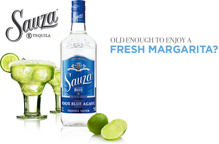 Sauza Tequila: You Must Be 21 or Over to Enter